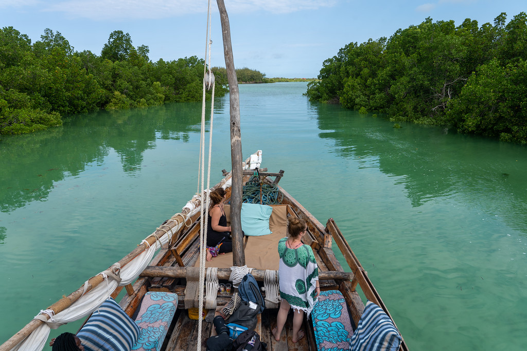 Dhow boat in Zanzibar