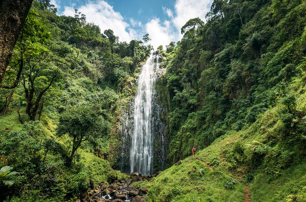 Tanzania Waterfall Photo