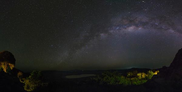 Milky Way, Ngorongoro Crater