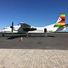 Victoria Falls Airport - Air Zimbabwe Xian MA-60