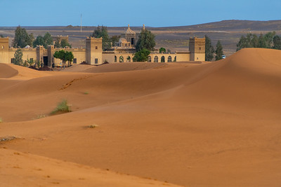 Hotel at the age of the Sahara
