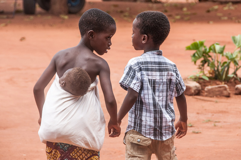 Young boys in Lome, Togo
