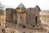 Located in the North of Togo, the Tamberma Valley is famous for it castle like mud houses called Tata.<br /> Tamberma Valley, Togo, December 2006