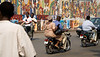 LOME, TOGO - DECEMBER, 2006:Traffic on the busy streets of Lome, the capital of Togo. (Photo by: Christopher Herwig)