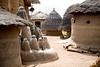 TAMBERNA VALLEY, TOGO - DECEMBER, 2006: Located in the North of Togo, the Tamberma Valley is famous for it castle like mud houses called Tata. (Photo by: Christopher Herwig)