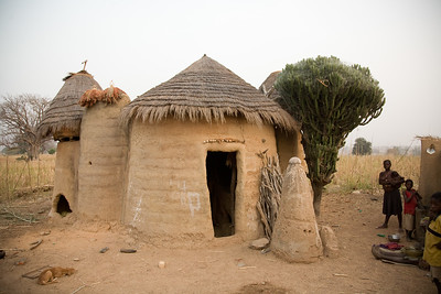 Tata house - castles in Northern Togo