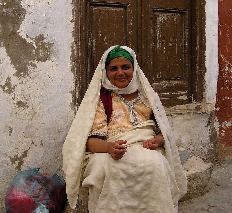 Woman, Kairouan