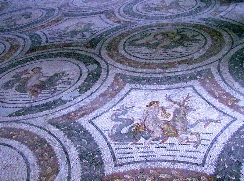 Mosaic, Bardo Museum, Tunis