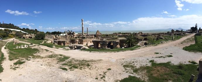 roman baths tunisia carthage