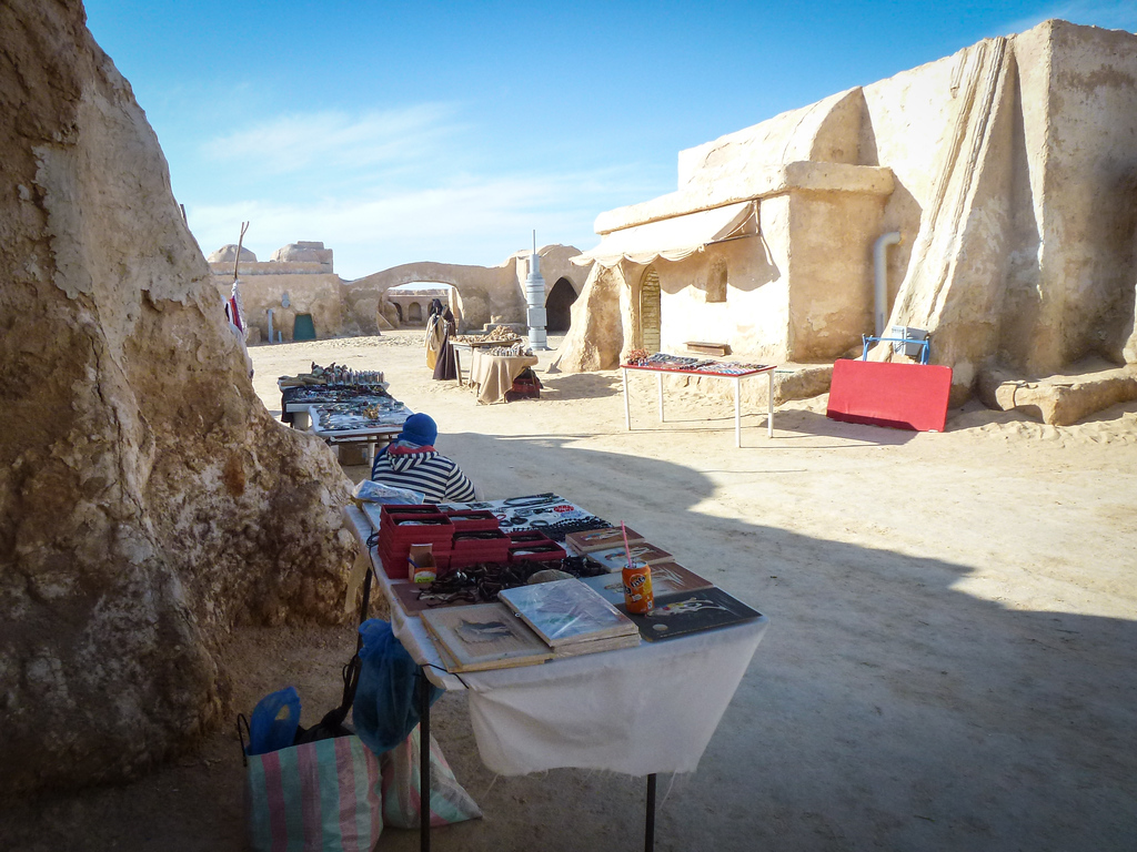 a photo essay of mos espa the vanishing star wars sets in the tunisia star wars
