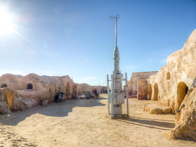 star wars sets tunisia
