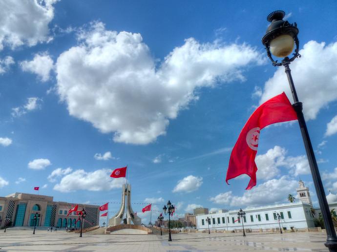 tunisia tunis Mohammad Bouazizi square