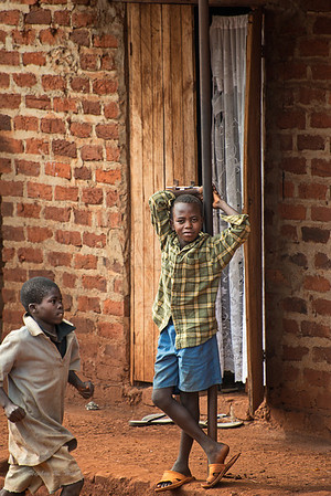 'The pace of things'. Young boys in Mafubira, Uganda