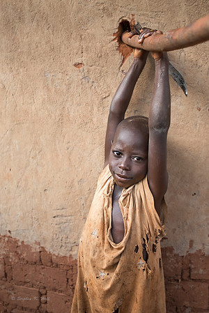 Young boy near Lake Kyoga, Kamuli District, Uganda.