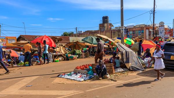 Markt in Entebbe, Uganda