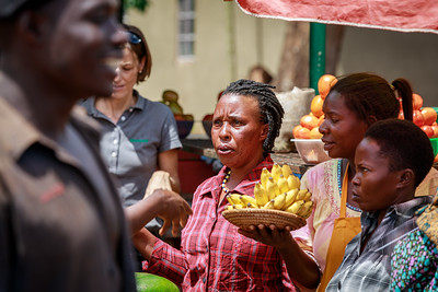Marktfrauen in Kasana