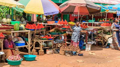 Markt in Kasana