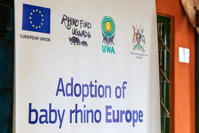 Förderer des Ziwa Rhino Sanctuary, Uganda