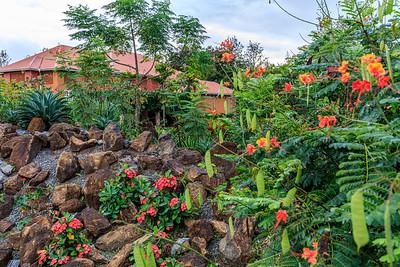 Kabalega Resort Masindi, Garten
