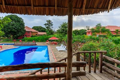 Garten, Kabalega Resort Masindi, Pool