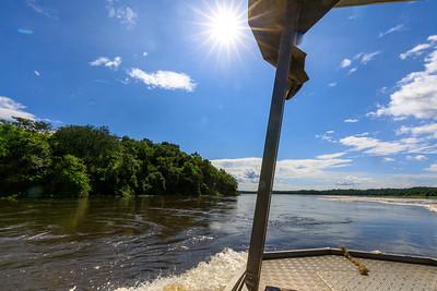Bootsfahrt auf dem Victoria Nil, Murchison NP