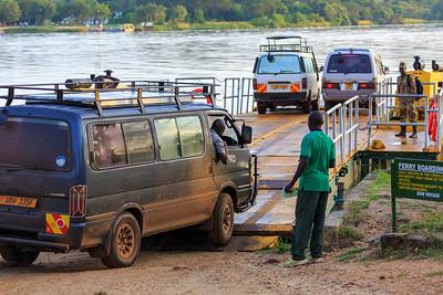 Fähre über den Victoria Nile, Murchison Falls NP