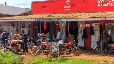 Motorradwerkstatt, Hoima, Uganda