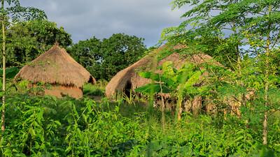 Dorf im Murchison Falls NP