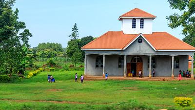 Church of Uganda in Katasiha Villlage, Uganda