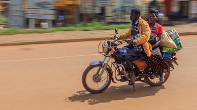 Motorrad-Taxi, Hoima, Uganda