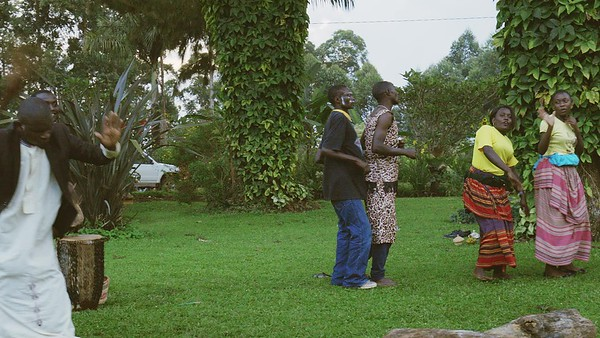 We say Goodbye, Kluges Guest Farm Performance, Uganda