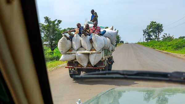 Erntetransport, Uganda