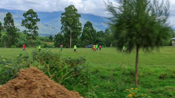 Frauenfußball in Rubona, Uganda