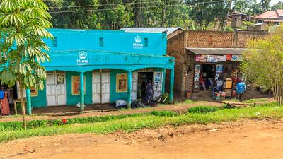 Straßendorf Kibiito, Uganda