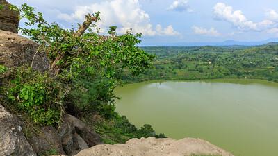 Kratersee Katinda, Kichwemba, (QENP), Uganda