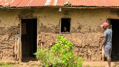 Bauernhäuser, Kichwemba, Uganda