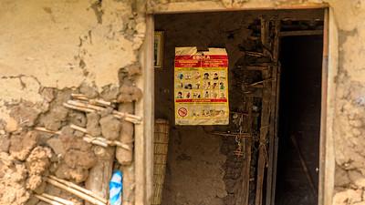 Ebola-Warnung, Kichwemba, Uganda