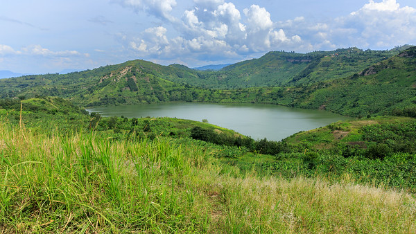 Kratersee Mirambi, Kichwemba, (QENP), Uganda