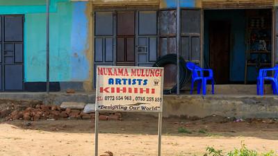 Hier wohnt ein Künstler, Kihihi, Uganda