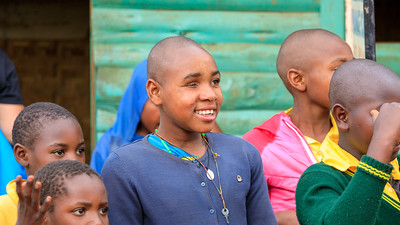 Waisenkinder in der Community Little Angels Orphanage School, Ruhija, Uganda