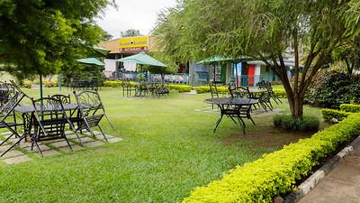 Restaurant in Bihalrwe, Uganda