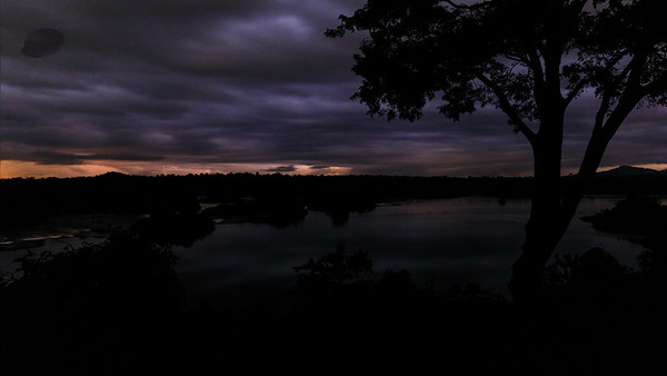 Thunderstorm over Busowoko Falls, Victoria Nile Uganda