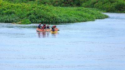 White water rafting, Busowoko Falls, Victoria Nile, Uganda