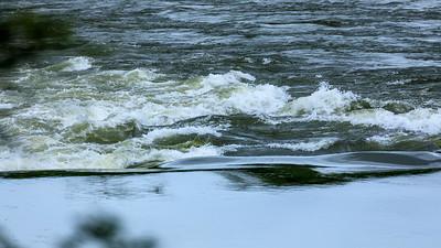 Waves of Busowoko Falls, Victoria Nile, Uganda