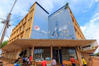 House in Iganga Road / Nadiope Road, Legacy of indian architecture in Jinja, Uganda