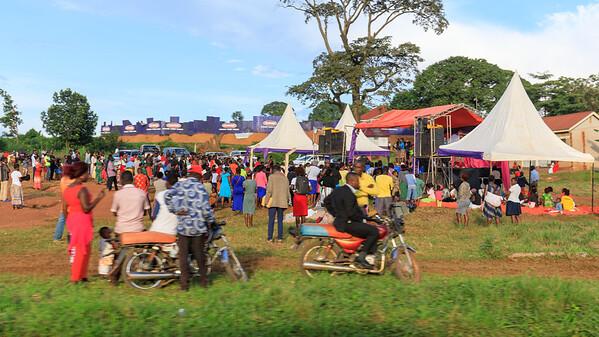 Schoolfestivity in Manyangwa, Uganda
