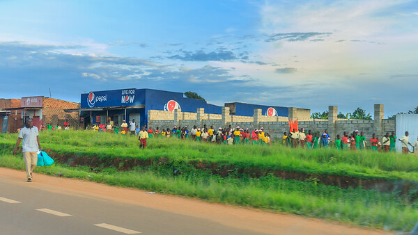 Nagalama, alongside the Kampala-Jinja-Highway, Uganda
