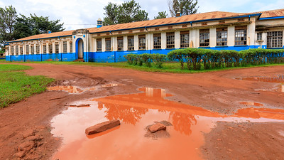 Naranbhai road primary school, legacy of indian architecture in Jinja, Uganda