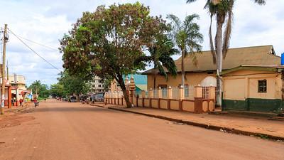 Masjid jammia Mosque in Nadiope Road, Jinja, Uganda