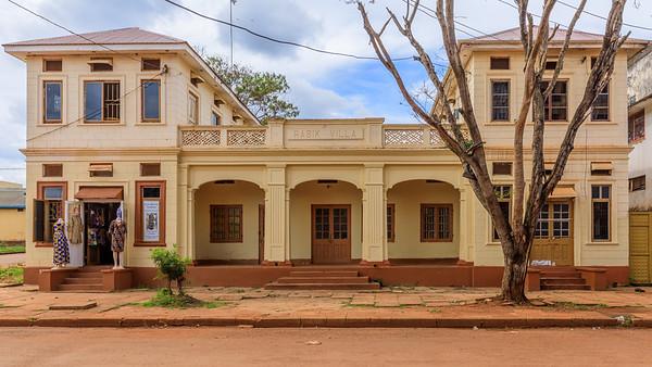Rasik Villa (1935) in Iganga Road, Legacy of indian architecture in Jinja, Uganda